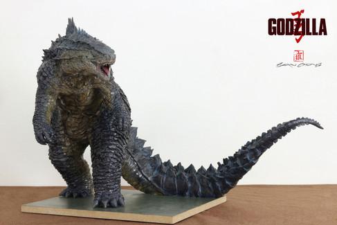 Godzilla Sculpture 2014