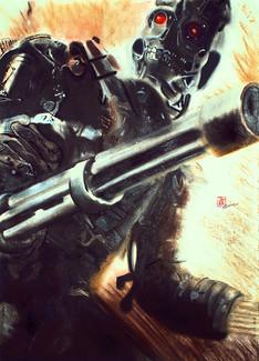 Terminator Salvation (Pastel)