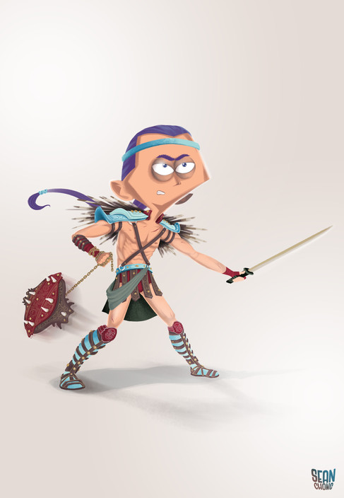 Character Design Challenge: Gladiators