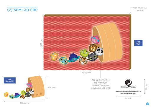 DW KouKou Café Semi 3D FRP