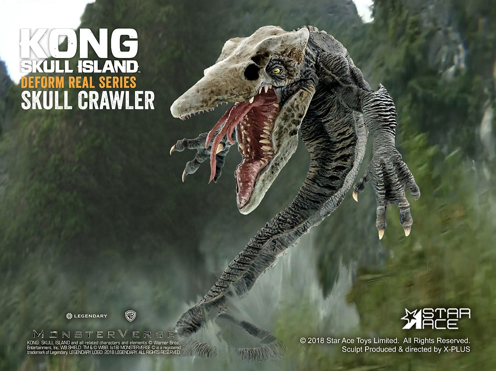 Star Ace Defo-Real Skull Crawler (Individual/Standard version)