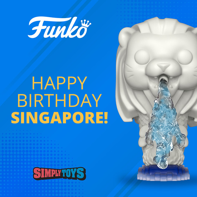 Funko: NDP Post (Merlion)
