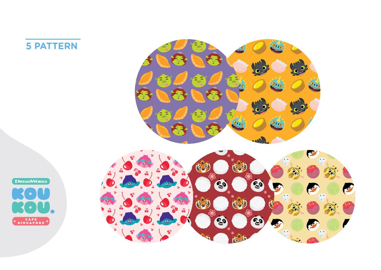 DW KouKou Café Pattern