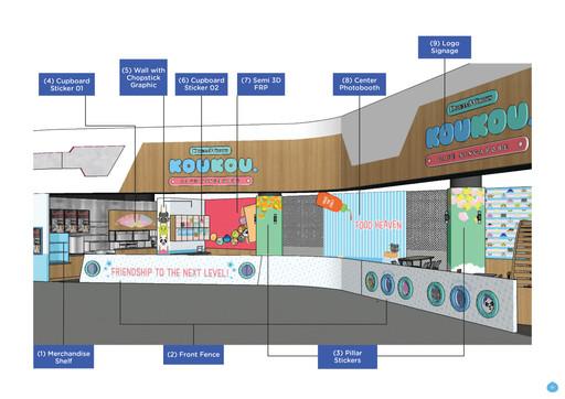 DW KouKou Café Store Front