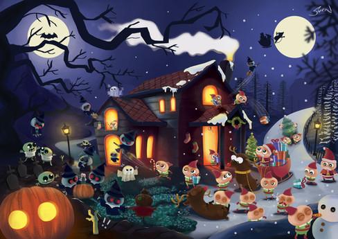 e.Liens (Halloween x Xmas)
