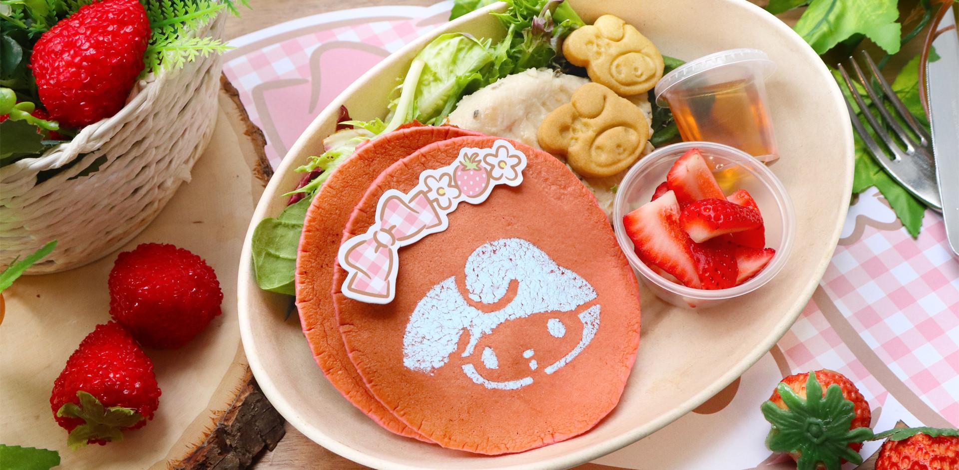 Pink Pancakes Bliss