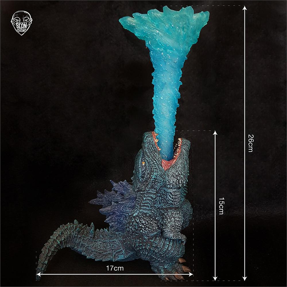 Size of Defo-Real Godzilla 2019