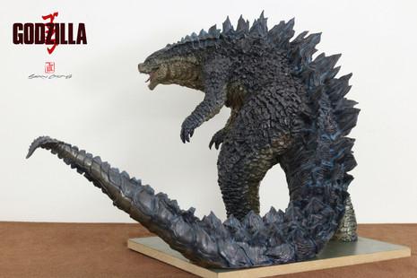 Godzilla Sculpture