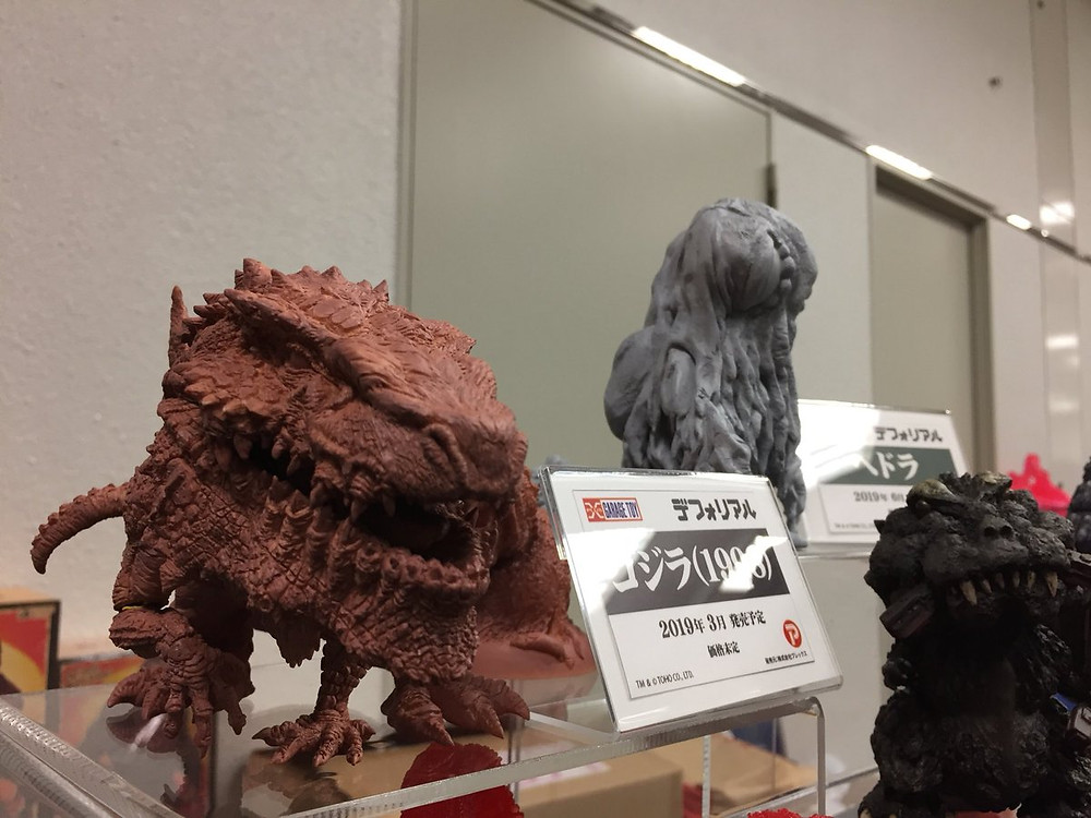 Prototype of Defo-Real Godzilla 1998 showcased in Japan Super Festival