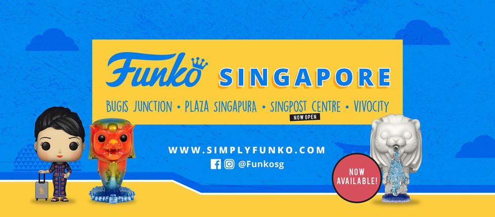 Funko Facebook Banner