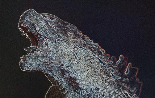 Godzilla Sculpture 2019