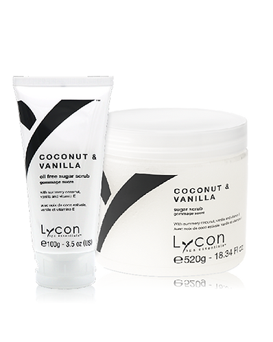 Coconut & Vanilla Sugar Scrub