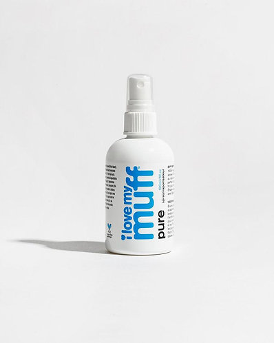 I love My Muff Blue Spray
