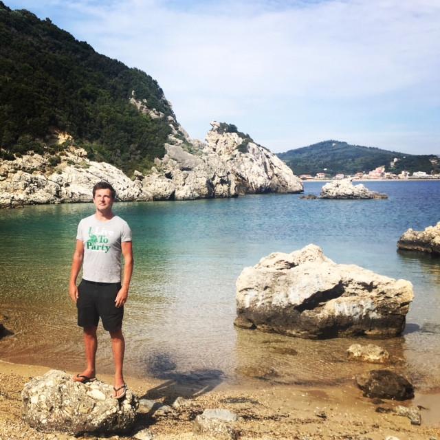 Ballade depuis votre location de villa à Corfou : Porto Timoni