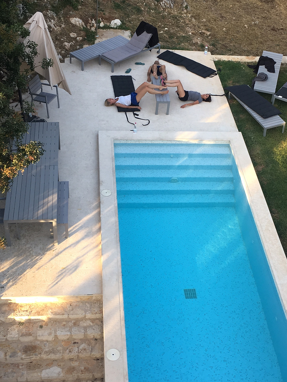 Gym at your rental villa in Corfu