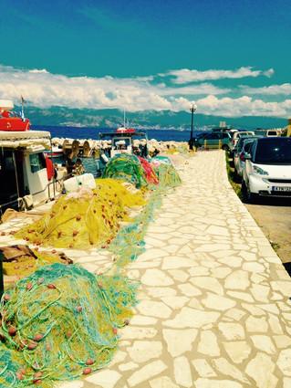 Sur le port de Kassiopi