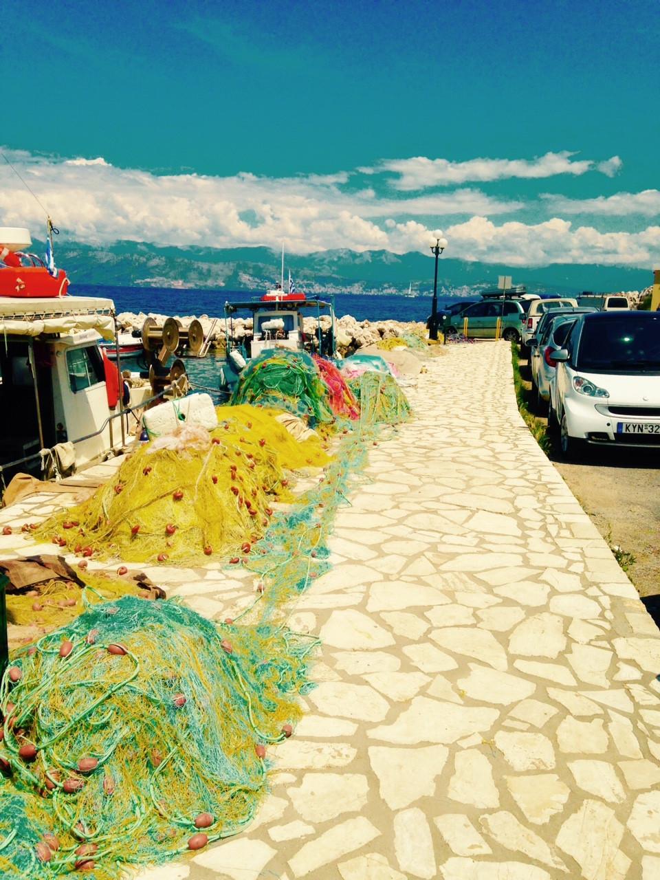 ballade depuis votre location de villa a Corfou : Kassiopi