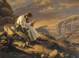 Jesus é conduzido pelo Espírito