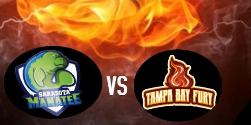 Tampa Bay Fury V Sarasota Manatees