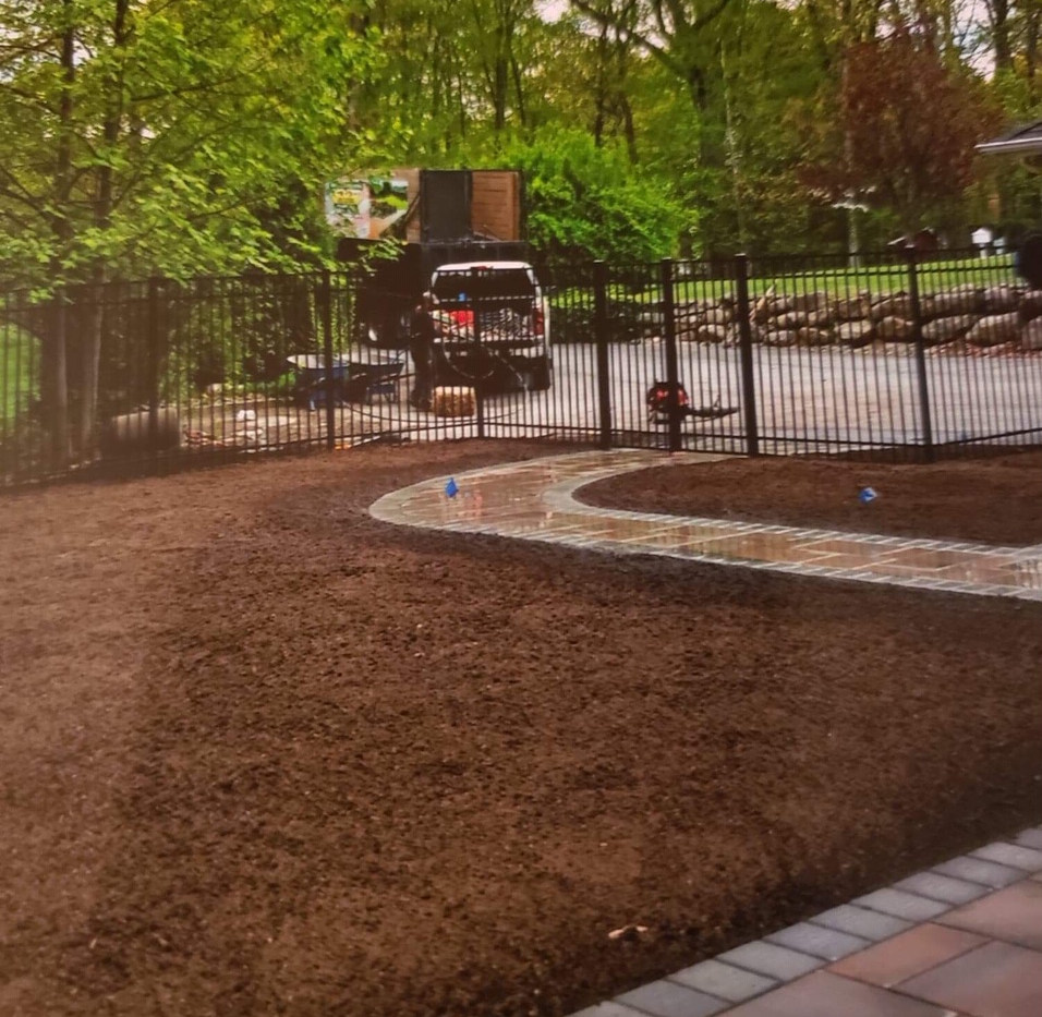 New Lawn Installation