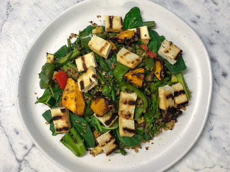 RECIPE: Moroccan Quinoa & Vegetable Salad