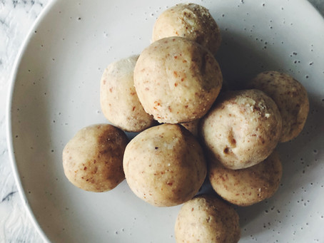 RECIPE: Lemon Cheesecake Bliss Balls (V, DF, GF)
