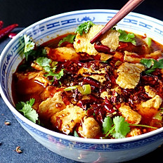 SPICY POACHED FISH FILLET