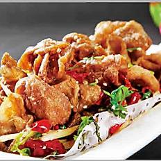 "Spicy & Savory ""Tripas"" Pork Intestines"