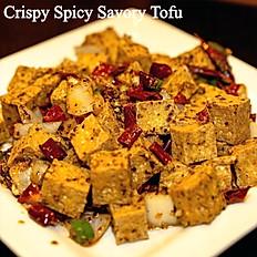 CRISPY SPICY TOFU