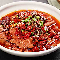 SPICY POACHED LAMB FILLET 水煮羊