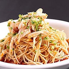 Sichuan Chicken sheered Cold Noodle