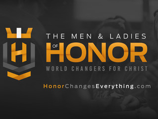 HonorChangesEverything.com launches May 2020