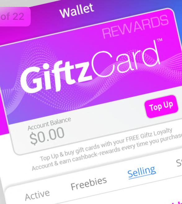 Giftz App