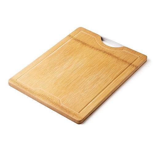 瑞典【GREEGREEN】天然竹木雙面防裂砧板 中型(18吋)