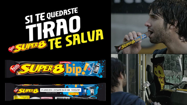 SUPER 8 / TE SALVA / BIP!