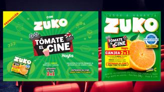 ZUKO / TÓMATE EL CINE