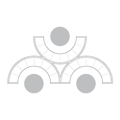 Circular Grouped Banquette Seating