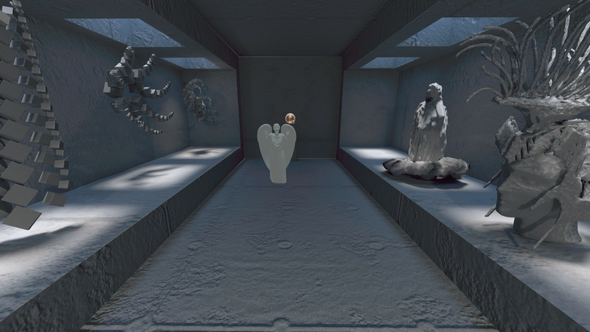 HCI Design Sprint 6: Weeping Angels in VR: where will you run?