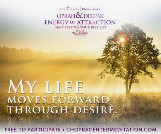 #RiseNShine Darlings! My Deepest Desires & Let's Do Some Meditation