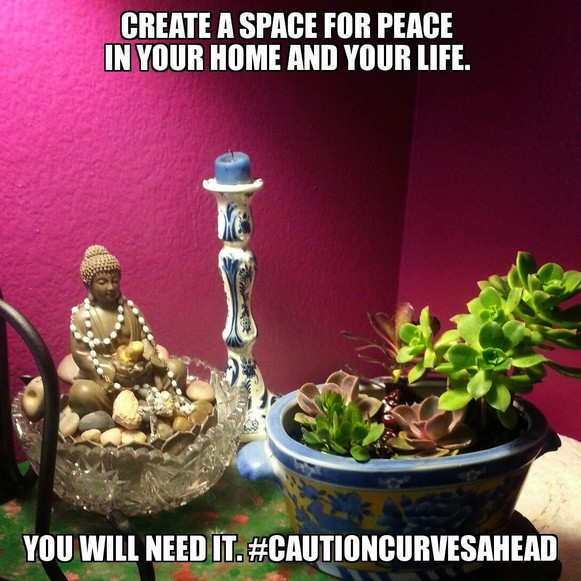 Create A Space For Peace In Your Home And Your Life.