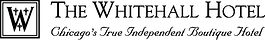 Whitehall Logo With Tagline - Black and