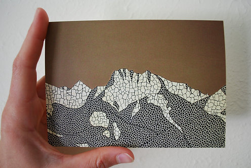 Mission Mountains Greeting Card