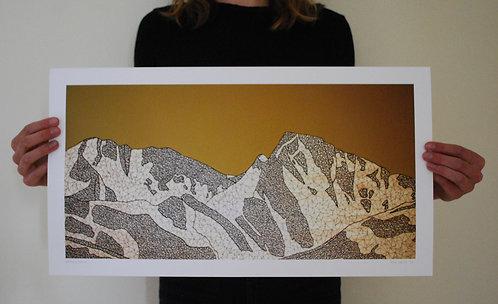 Bridger Range Print
