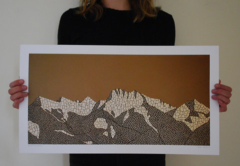 Mission Mountains Print