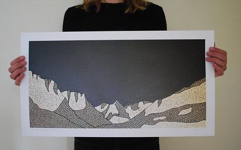 Glacier Print