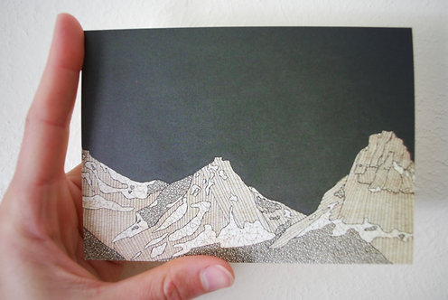 Glacier Greeting Card