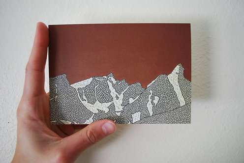 Trapper Peak Greeting Card