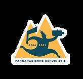 Logo Course - Bouton - PNG - HD - Spécial 5 ans - Contour blanc.png