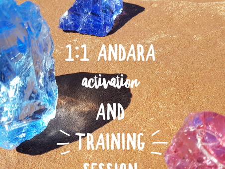 1:1 Andara Activation and Alignment Sessions
