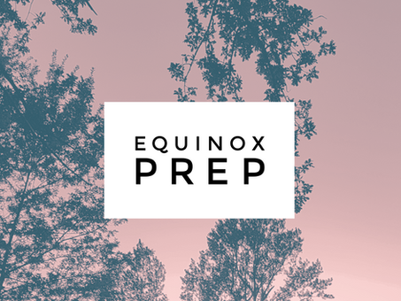 EQUINOX PREP COMMUNITY CALL AND SKILLS MEETING: REGISTRATION OPEN